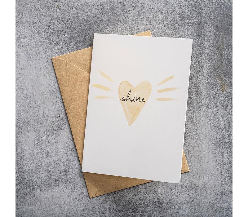 A Beautiful Story Greeting Card - Loveshine Watercolour