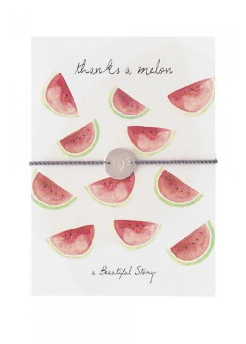A Beautiful Story A Beautiful Story Jewelry Post Card - Watermelons