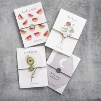 A Beautiful Story Jewelry Post Card - Watermelons