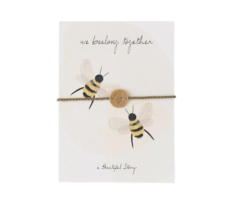 A Beautiful Story Sieraden Ansichtkaart - Bees