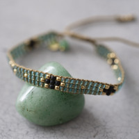A Beautiful Story Summerlight Gold Bracelet - Aventurine
