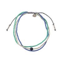 A Beautiful Story Bloom Zilveren Armband - Lapis Lazuli
