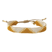 A Beautiful Story Flare Gouden Armband - Citrien
