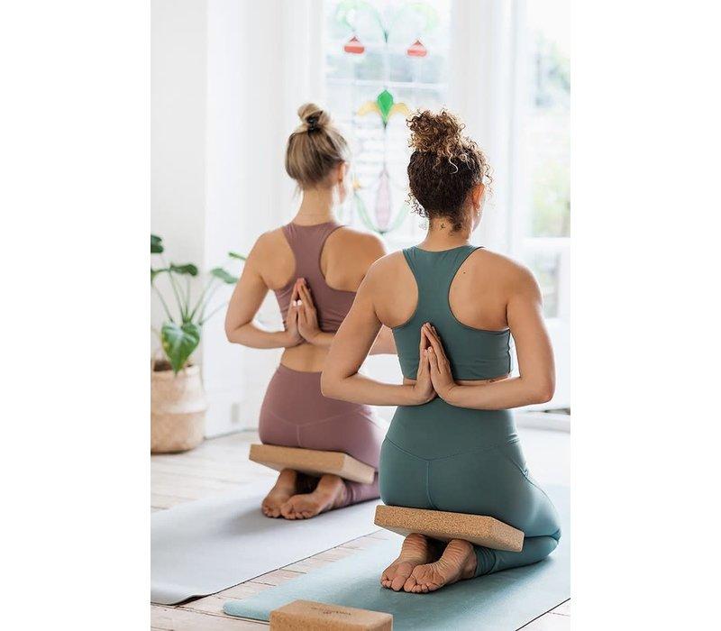 Yogamatters Yoga Blok Flacher Kurk