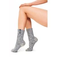 Soxs Women's Socks - Grey/Jet Black Half High