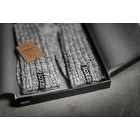 Soxs Damen Socken - Grey/Jet Black Half High