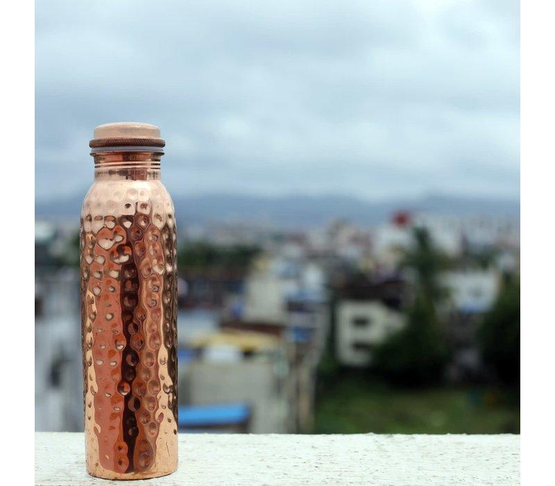 Forrest & Love Copper Bottle 900ml - Hammered