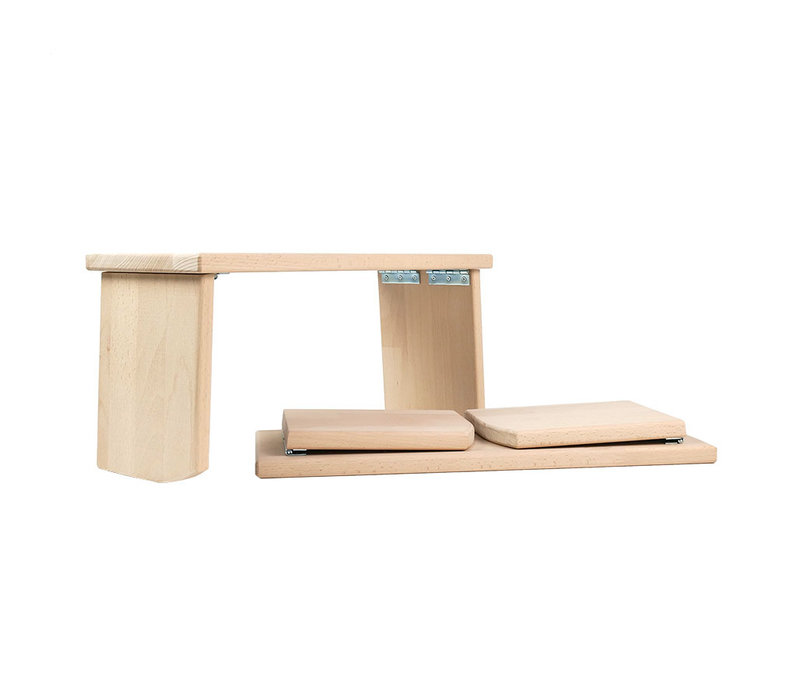 Meditation Bench Rounded Foldable