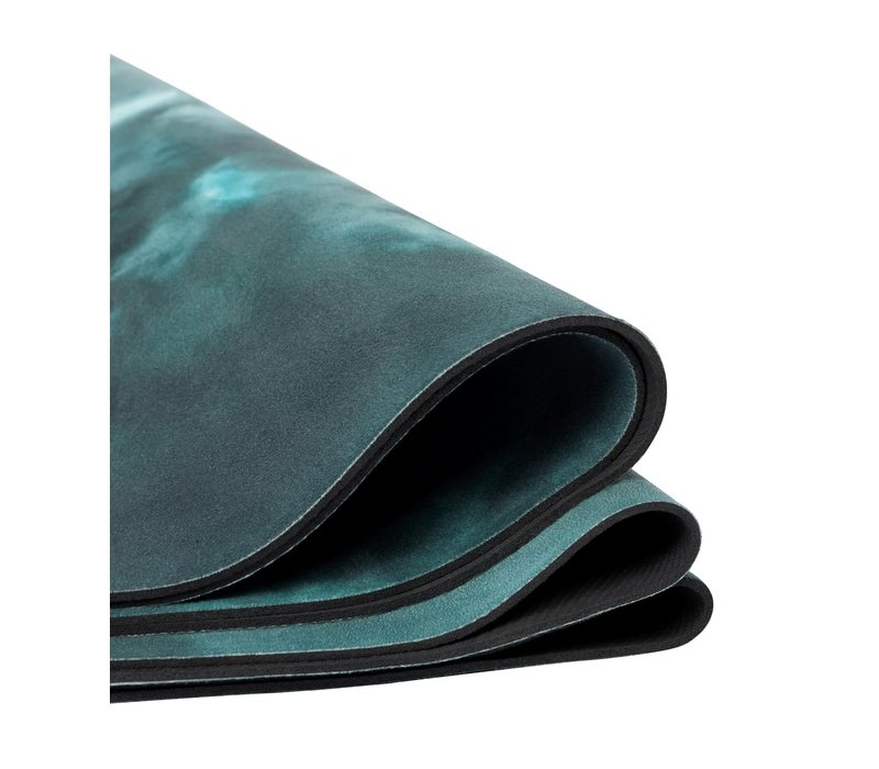 Manduka eQua eKo Round Yoga Mat - Luna Night
