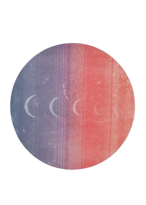 Manduka Manduka eQua eKo Round Yoga Mat - Luna Sunrise