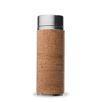 Qwetch Tea Travel Thermos Glass - Cork Collection
