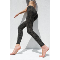Funky Simplicity High Waist Legging - Olive Snake
