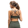 Funky Simplicity Funky Simplicity Cross Back BH - Olive Green