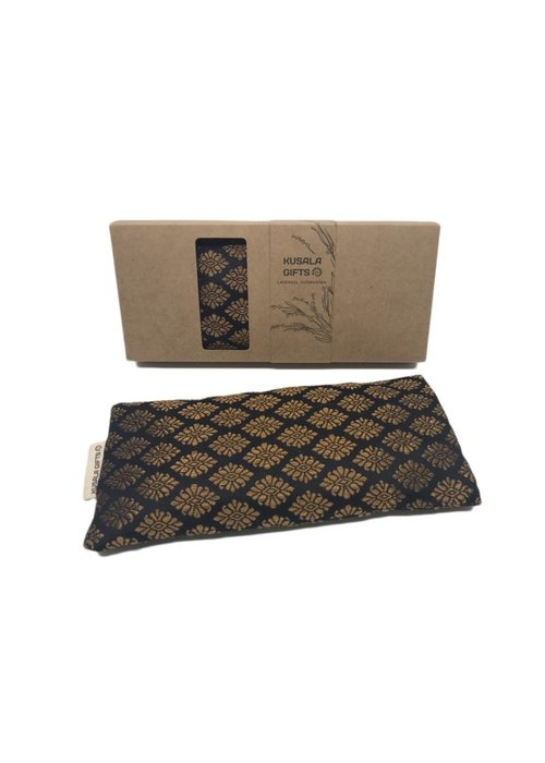 Kusala Kusala Eye Pillow Silk - Seoul Black