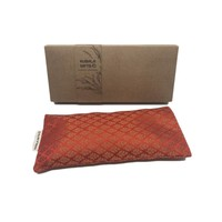 Kusala Eye Pillow Silk - Delhi Orange