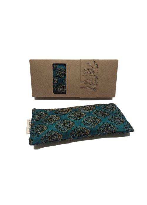 Kusala Kusala Eye Pillow Silk - Windhoek Teal