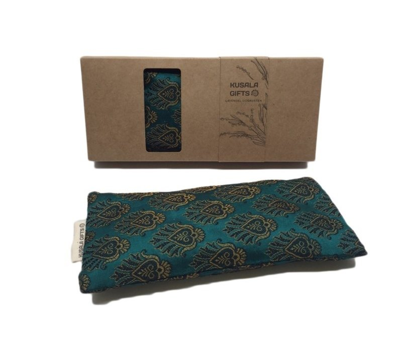 Kusala Eye Pillow Silk - Teal