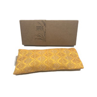Kusala Eye Pillow Silk - Frankfurt Yellow