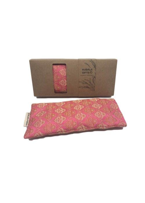 Kusala Kusala Eye Pillow Silk - New York Pink
