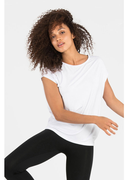 Dharma Bums Dharma Bums Luxe Layer Top - White