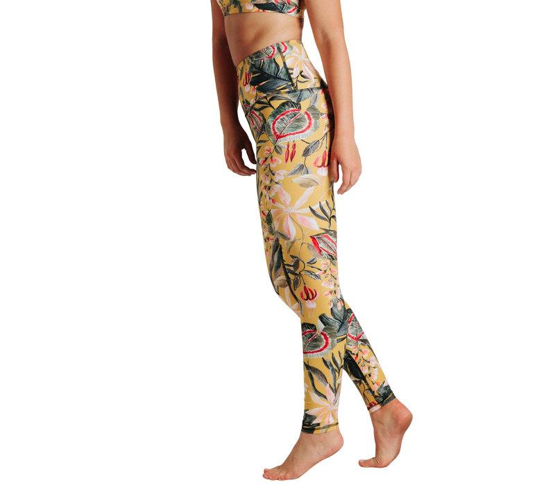 Yoga Democracy Yoga Legging - Curry Up
