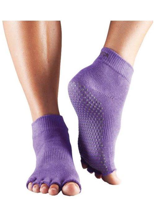 Toesox Toesox Ankle Half Toe - Lilac
