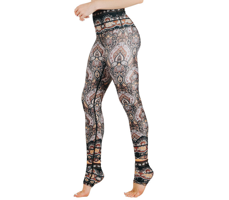 Yoga Democracy Yoga Legging - Espresso Yourself