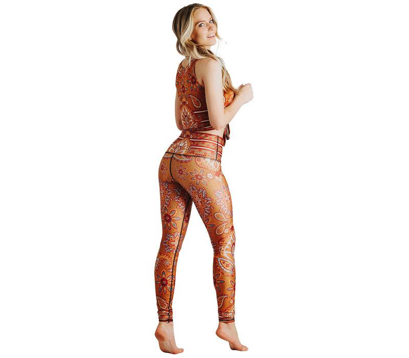 Yoga Democracy Yoga Legging - Rad Paisley