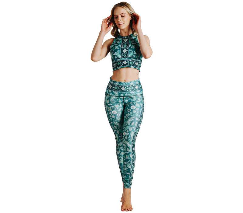 Yoga Democracy Yoga Legging - Mint To Be