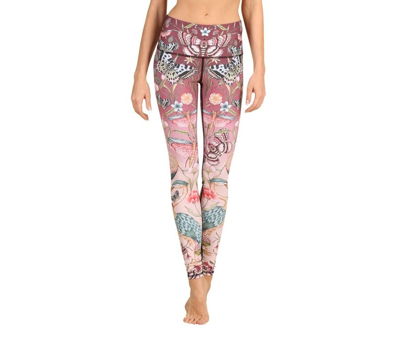 Yoga Democracy Yoga Legging - Pretty In Pink