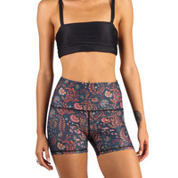 Yoga Democracy Joey Short - Festival Denim Floral