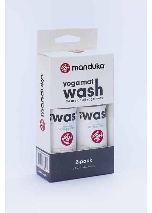 Manduka Manduka Mat Wash 2 Pack 59ml - Gingergrass & Citrus