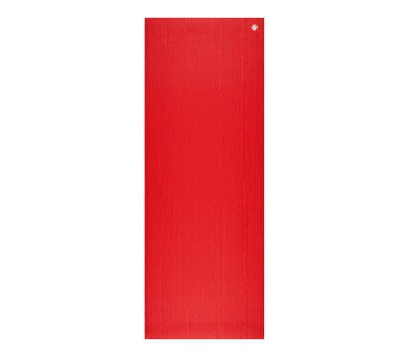 Manduka Pro Yoga Mat 180cm 66cm 6mm - Manduka Red