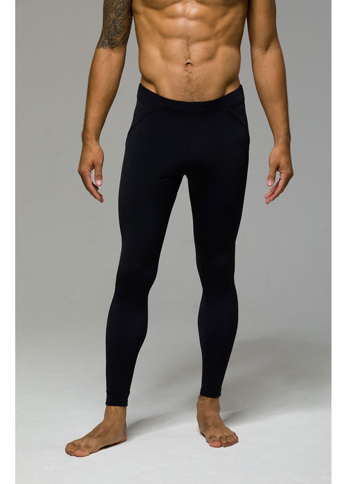 Onzie Onzie Men's Long Legging - Black