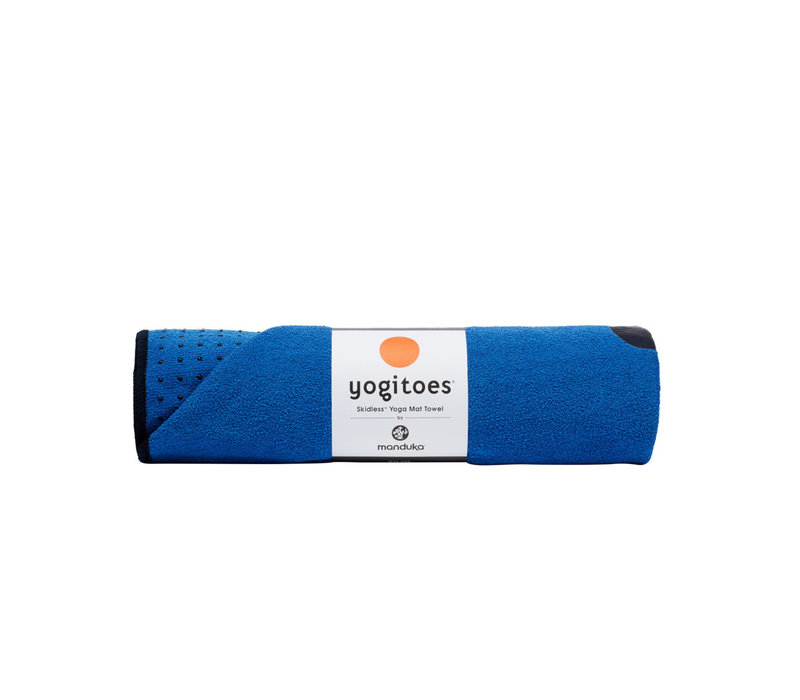 Yogitoes Yoga Handdoek 172cm 61cm - Be Bold Blue