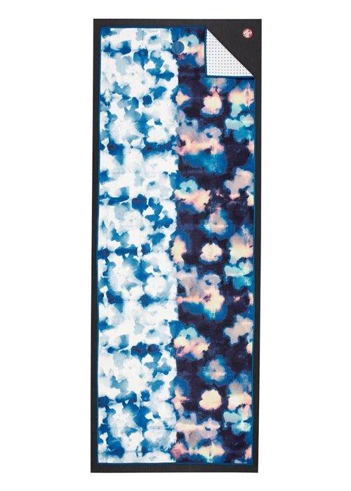 Yogitoes Yogitoes Yoga Handdoek 172cm 61cm - Double Dye Blue