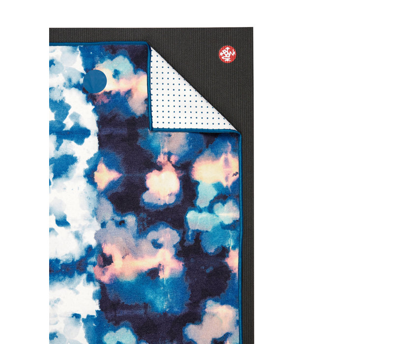 Yogitoes Yoga Handdoek 172cm 61cm - Double Dye Blue