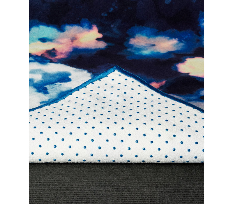 Yogitoes Yoga Handtuch 172cm 61cm - Double Dye Blue