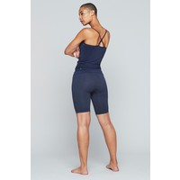 Moonchild Yoga Wear Seamless Biker Shorts - Aura Blue