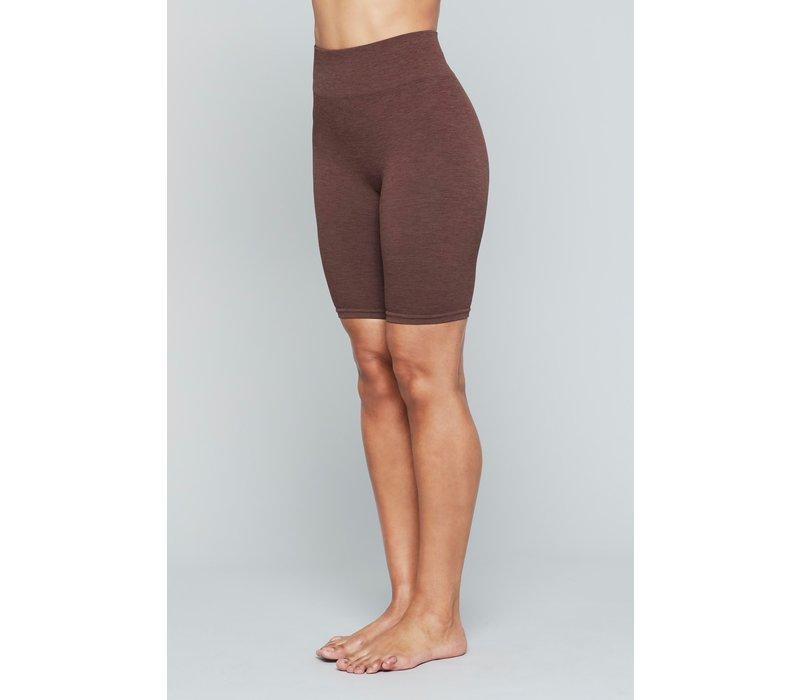 Moonchild Yoga Wear Seamless Biker Shorts - Earth