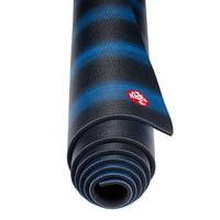 Manduka Pro Yoga Mat 180cm 66cm 6mm - Black Blue Colorfields
