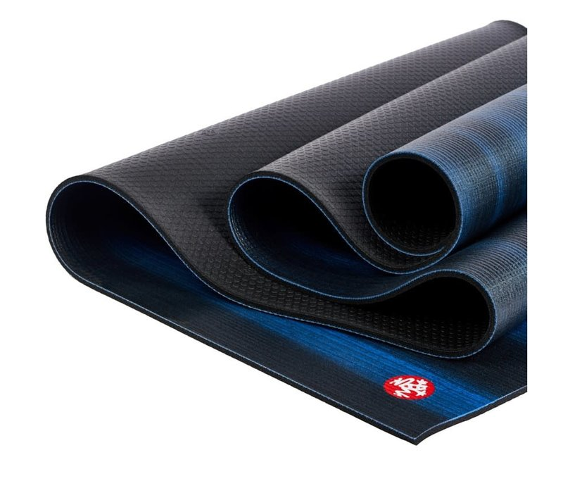 Manduka Pro Yoga Mat 180cm 66cm 6mm - Blue Colorfields