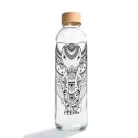 Carry Glazen Drinkfles 700ml - Elephant