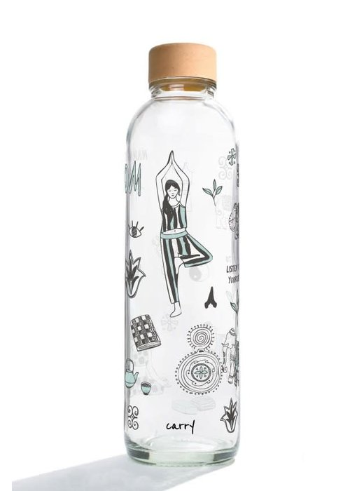 Carry Carry Glass Drinking Bottle 700ml - Namasté