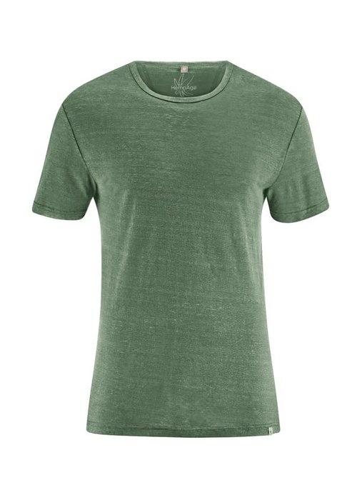 HempAge HempAge T-Shirt 100% Hemp - Herb