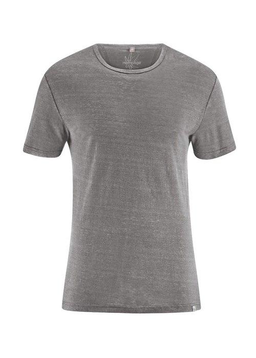 HempAge HempAge T-Shirt 100% Hemp - Taupe