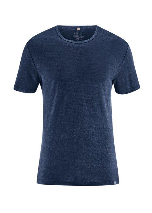 HempAge HempAge T-Shirt 100% Hemp - Navy