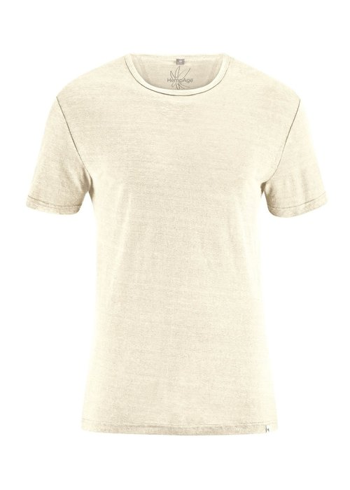 HempAge HempAge T-Shirt 100% Hemp - Nature