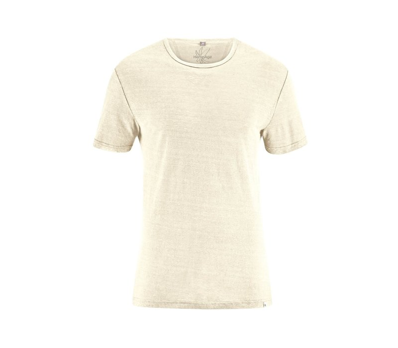 HempAge T-Shirt 100% Hemp - Nature