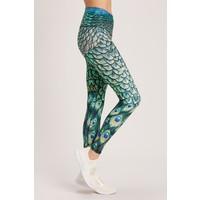 Niyama Sol Barefoot Legging - Peacock